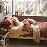 WRAP 100% PREMIUM QUALITY REVERSIBLE DOUBLE BED 4PC COMFORTER SET SMC-05