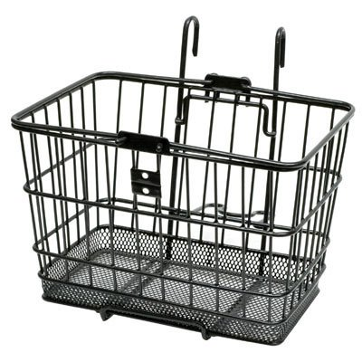Sunlite Mesh Bottom Bicycle Lift Off Basket, Black