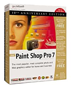 Paint Shop Pro 7 10th Anniversary Edition