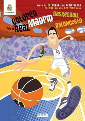 Coloreo con el Real Madrid: Baloncesto-Basketball