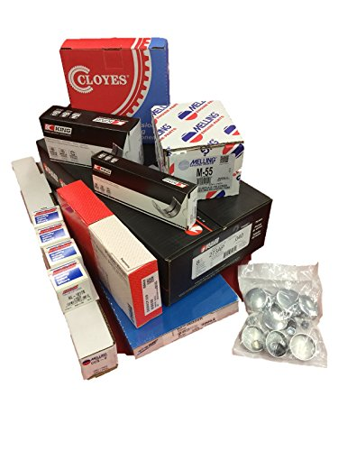 Chevy 350/5.7 VIN-K MASTER Engine Kit Pistons+Rings+Cam+5/8 Oil Pump 87-94 (350 V8 Engine compare prices)
