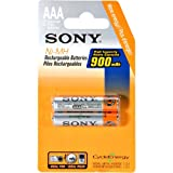 Sony Cycle Energy 900 mAh Ni-MH AAA Rechargeable Batteries (Discontinued by Manufacturer)