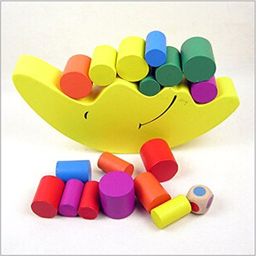 COFFLED-Baby-Early-Learning-Toy-Moon-Balancing-Frame-Wooden-Educational-Toys-Building-Blocks