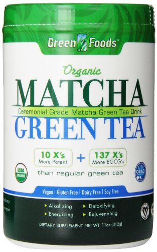 Green Foods Matcha Green Tea, 11 Ounce (Matcha Organic Green Tea Powder compare prices)