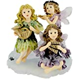 Boyds Fairy Jillian, Piper & Melody Sugarplum Sonata #36015