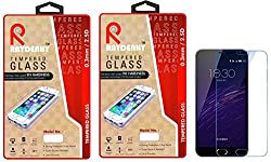 Raydenhy Pack of 2 (2 PCS) 2.5D Curved Edges 0.33MM Thickness Tempered Glass For Meizu M3 Note