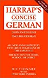 Harrap's Concise English-German Dictionary/Harrap's Worterbuch Deutsch-Englisch (0671888099) by Sawers, Robin