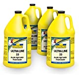 Ultra Line 33% High Solids Floor Finish Wax - 4 Gallons case