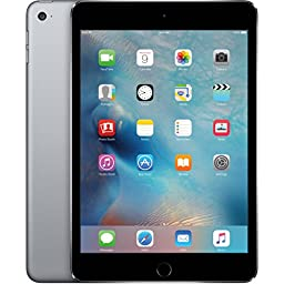 Apple iPad mini 4 64GB (Wi-Fi) 7.9-Inch iOS Tablet - Space Gray (Certified Refurbished)