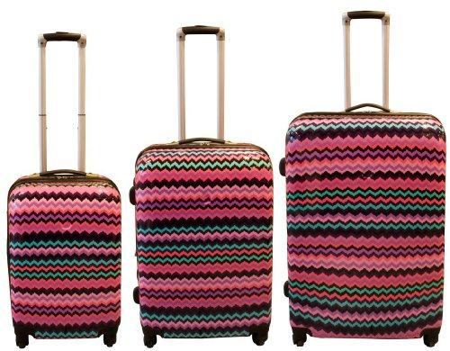 Polycarbonat Kofferset mit ABS MEXIKO 3 tlg 70