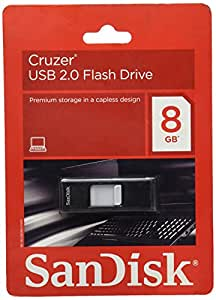 SanDisk Cruzer 8 GB USB 2.0 Flash Drive (SDCZ36-008G-A11)