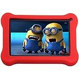 70% OFF! Simbans (TM) FunDoTab 7 Inch Kids Tablet PC Bundle (Quad Core, 8GB, HD, Google Android Kitkat 4.4, Dual camera) + Bouns Items
