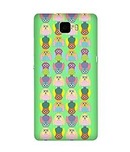 Stripes And Elephant Print-16 Huawei Honor 7 Case