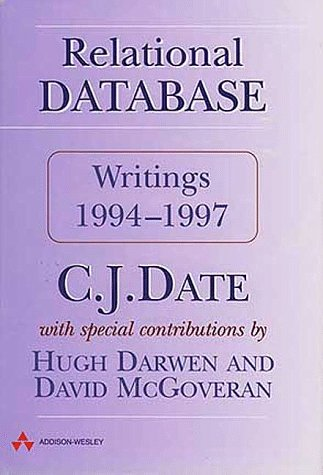 Relational Database Writings 1994-1997
