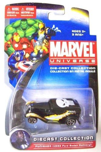 Maisto Die-Cast Marvel Universe PUNISHER 1932 Ford Sedan Delivery Die-Cast