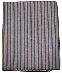 MS Retail Men's Shirt Fabrics (MS Retail_51_Brown Blue)