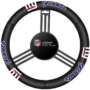 Fremont Die New York Giants Steering Wheel Cover by Fremont Die