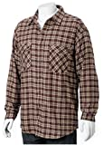 RIGGS Workwear by Wrangler Mens Thermal Lined Flannel Work Shirt