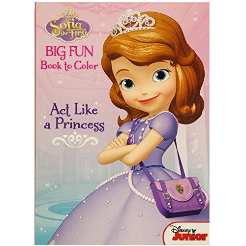 (ディズニー) Disney ちいさなプリンセス ソフィア 塗り絵 ぬりえ アクティビティブック Act Like a Princess 61220 【並行輸入】