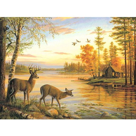 Mary Pettis Quiet Evening Mini 100pc Jigsaw Puzzle