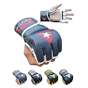 NEW COLORS! Anthem Athletics PREDATOR MMA Gloves - Training, Kickboxing, Striking, Muay Thai, Grappling, UFC, Boxing, BJJ, 100% Highest Grade Leather
