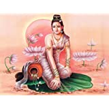 "Dolls Of India ""Apsara"" Reprint On Paper - Unframed (29.21 X 22.86 Centimeters)"