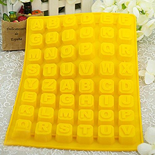 ELENXS continu 26 Lettre gâteau au chocolat pour cuisson de moules