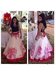 Universal Creation bollywood multicoloured Lehenga choli material