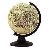 "Desktop-Rotating Globe 18 Century Geographie Ocean World mere 11.3"""