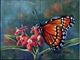 Monarch by Wanda Mumm Tile Mural for Kitchen Backsplash Bathroom Wall Tile Mural