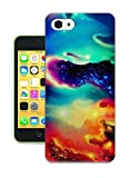 iPhone 6 Plus Case,Personalized Protective Case for iPhone 6 Plus (5.5 Inch) - Purple Daisy