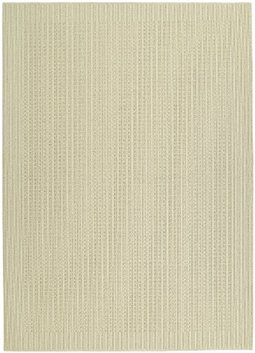 Garland Rug Herald Square Area Rug, 5-Feet By 7-Feet, Ivory
