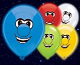Illoom Light-Up Balloons Faces - Pack of 5 Assorted