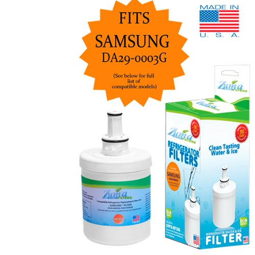 Samsung DA29-00003G – Compatible Refrigerator Water and Ice Filter by Zuma Water Filter (OPFS)