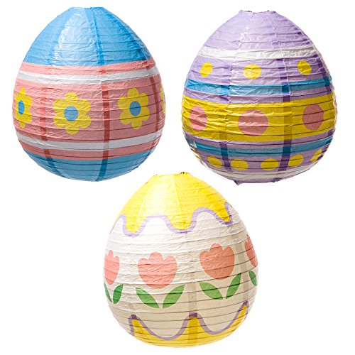 Easter Egg Lantern Decorations - 1