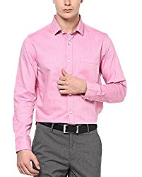 Byford by Pantaloons Men's Cotton Shirt Pink_44