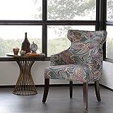 Madison Park Kujawa Notch Back Accent Chair Multi See below