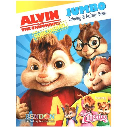 Alvin & the Chipmunks Jumbo Coloring & Activity Book - 1