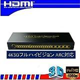 4K対応 複数の機器を自由に切替 HDMI セレクタ MTRIX 切替 分配器 4入力2出力 切替 リモコン付き 3D 4K対応 HDMIwii u Xbox playstation4 ホームシアター dvd など 複数接続 切替分配器 vr1.4