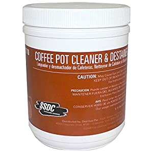 SSDC - Coffee Pot Cleaner & Destainer