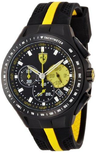 Scuderia Ferrari  830025 - Reloj de cuarzo para hombre, con correa de goma, color multicolor