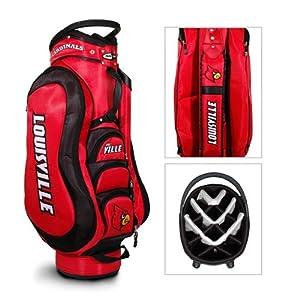 Louisville Cardinals NCAA Cart Bag - 14 way Medalist - TGO-24235 by Team Golf