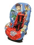 Patrulla Canina Funda para asiento de coche, color azul y rojo