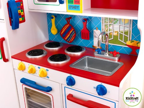 SAVE $44 09  Kidkraft Deluxe Let's Cook Kitchen (823951037594) $158