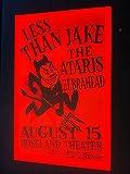 Less Than Jake Ska Punk Ataris Zebrahead Original Concert Tour Flyer Gig Poster