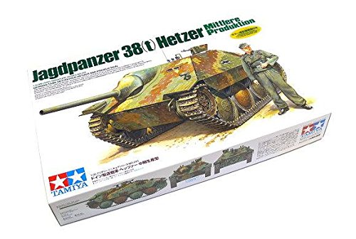 Rcecho® Tamiya Military Model 1/35 German Tank Hetzer Mittlere Mid Produktion 35285 With Rcecho® Full Version Apps Edition