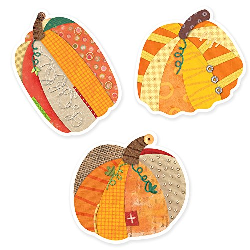 Creative Teaching Press Pumpkins 10-Inch Jumbo Designer Cut-Outs (7033)