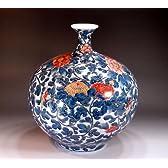 有田焼・伊万里焼|花瓶陶器・花器・壺|贈答品|高級ギフト|贈り物|記念品|プラチナ彩・藤井錦彩