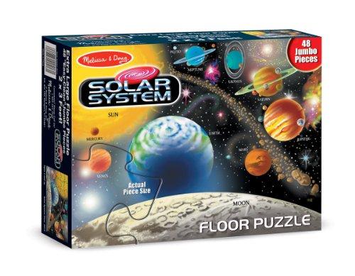 Melissa & Doug Solar System 48 Pcs Floor Puzzle Children, Kids, Game front-941773