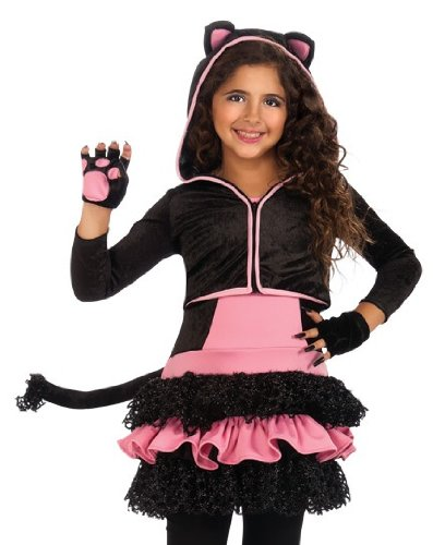 Drama Queens Black Cat Hoodie Costume